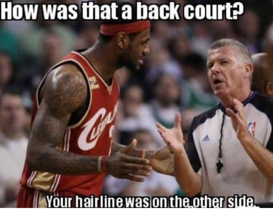 The 10 Most Hilarious Memes Making Fun Of LeBron James
