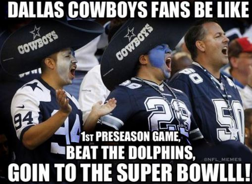 Counting Down The 10 Best Memes Making Fun Of The Dallas Cowboys
