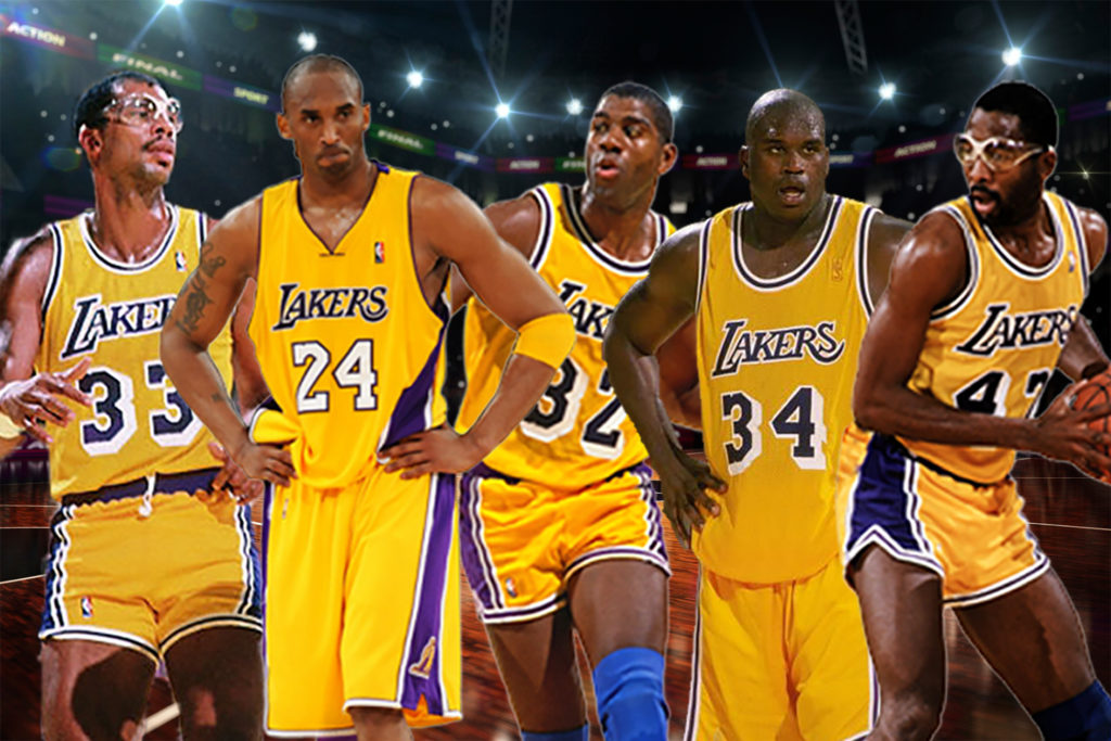 RANKED: Every NBA Franchise's All-Time Starting 5 – New ArenaLakers Roster