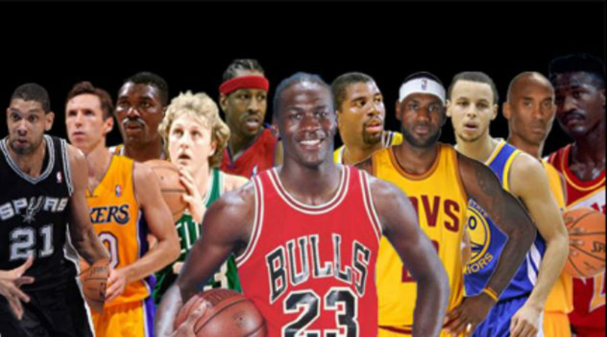RANKED: Every NBA Franchise's All-Time Starting 5 – New Arena