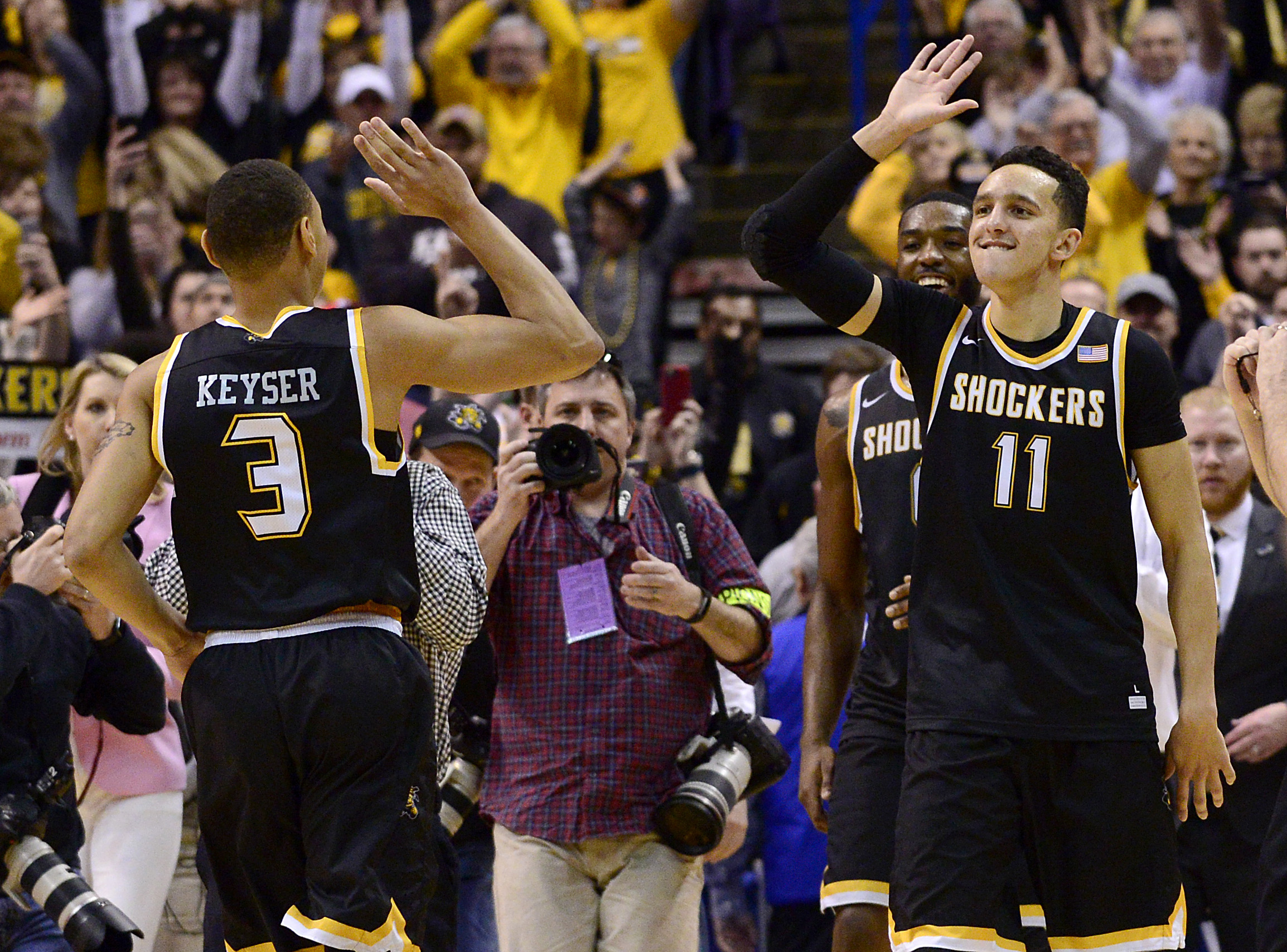Los Angeles Lakers From Cleveland Cavaliers PG Landry Shamet Wichita State