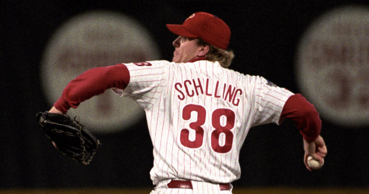 41f34d778 Curt Schilling is the definition of a big-game pitcher. Schill's 'bloody  sock' game will go down as one of the most impressive feats in baseball  history.