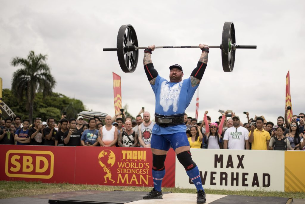 15. The World's Strongest Man