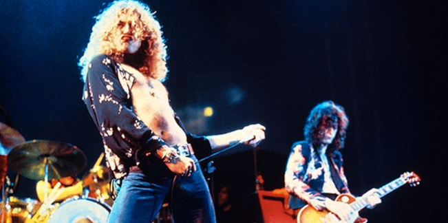 2. Robert Plant – Led Zeppelin