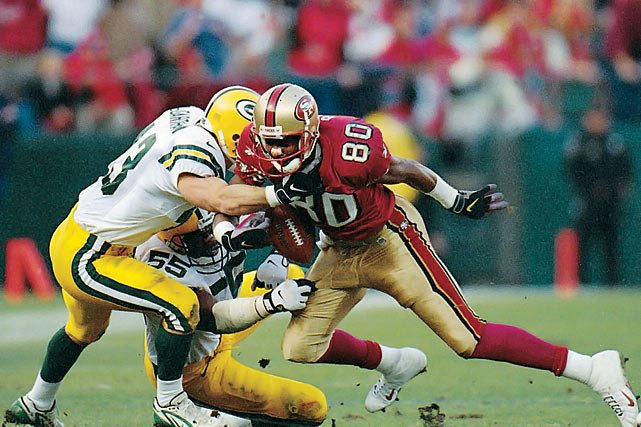 18. Jerry Rice Ruled Down