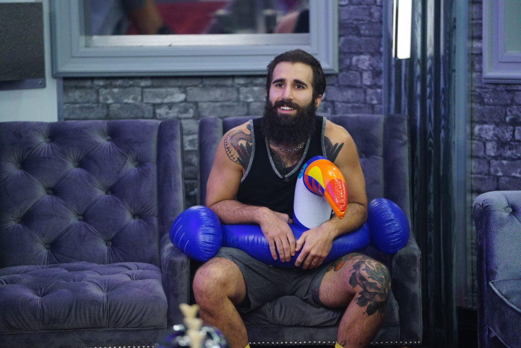 Paul Abrahamian — Big Brother 18 & 19
