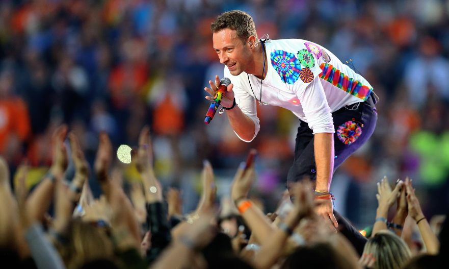 6. Coldplay