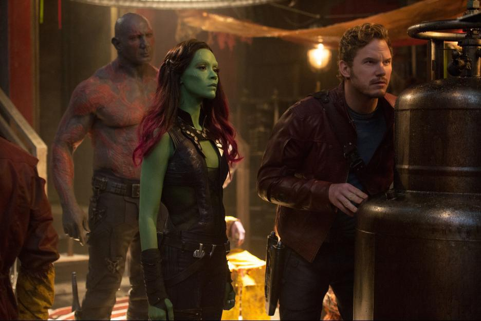 25. Guardians of the Galaxy (2014)