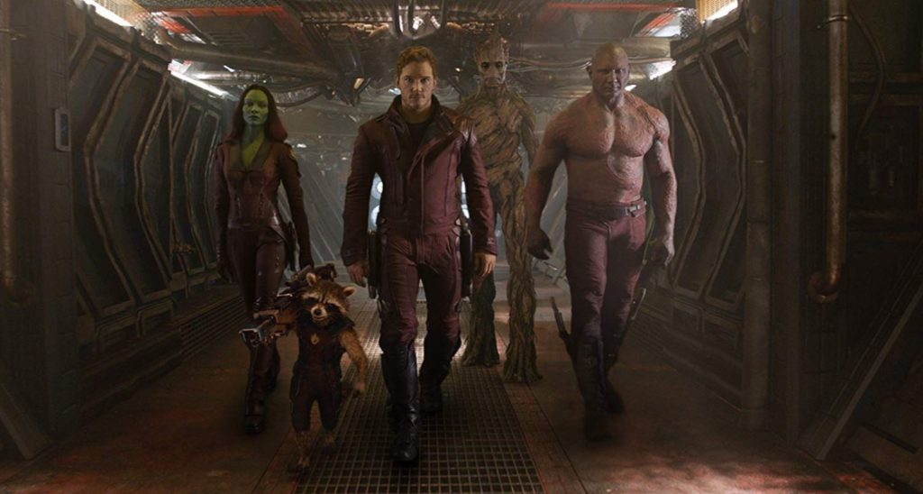 13. The Guardians of the Galaxy