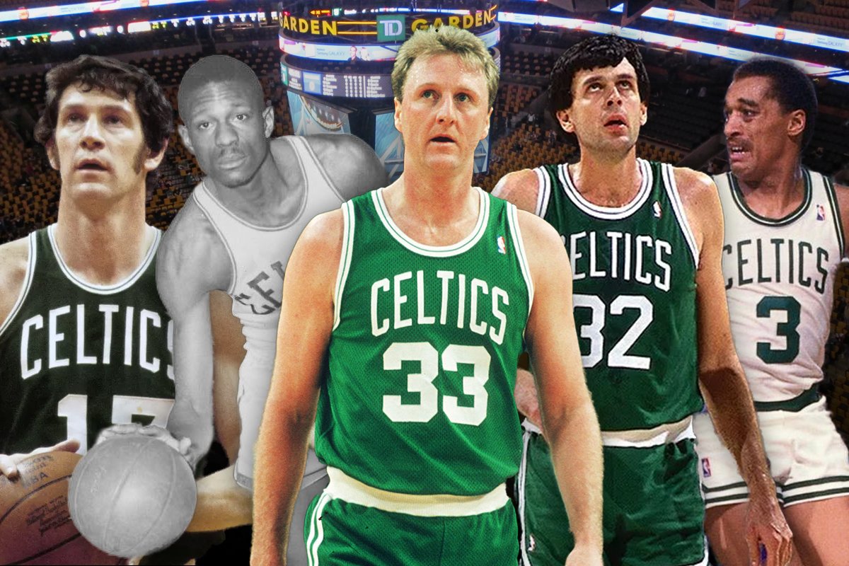 2. Boston Celtics: Dennis Johnson-John Havlicek-Larry Bird-Kevin McHale-Bill Russell