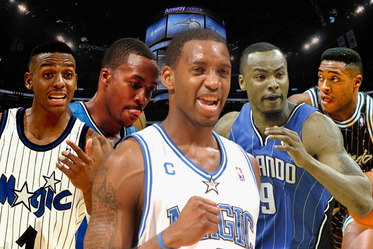 11. Orlando Magic: Penny Hardaway-Nick Anderson-Tracy McGrady-Rashard Lewis-Dwight Howard