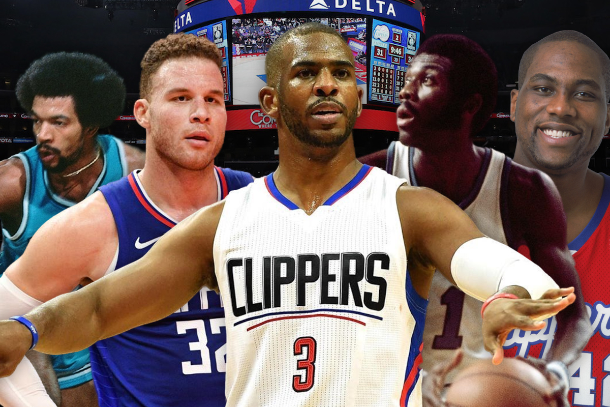 25. Los Angeles Clippers: Chris Paul-Randy Smith-Blake Griffin-Elton Brand-Bob McAdoo